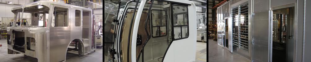 custom all aluminum cabs