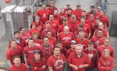 Marion Body Works Participates in National Wear Red Day