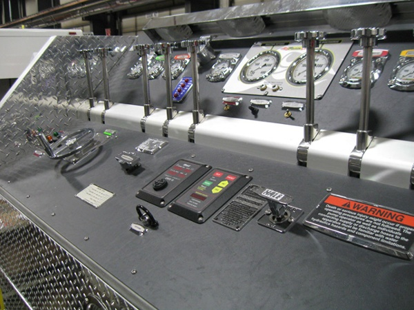 Marion Pumper Control Center