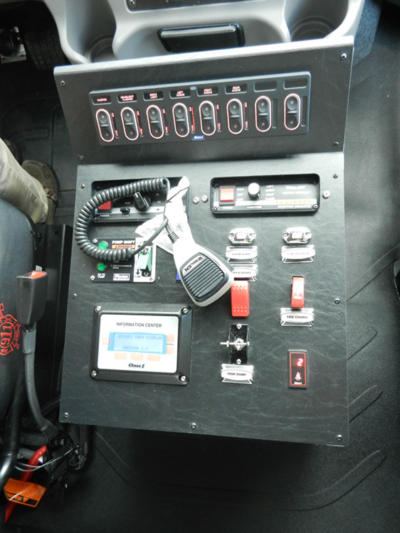Marion Pumper Control Panel