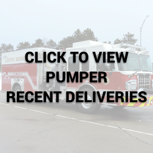 Marion Pumper Recent Deliveries