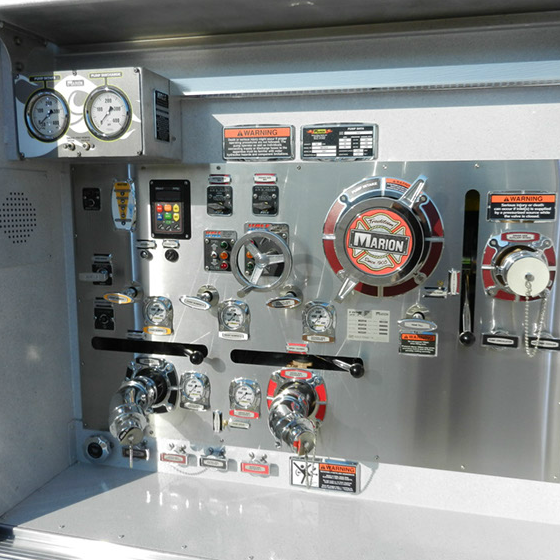 marion body works tanker control panel