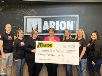 Marion Body Works Supports Cancer Awareness Month