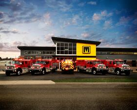 Marion custom trucks for Costa Rican Fire Department
