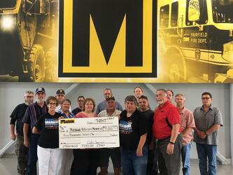 Marion Supports Manawa Veterans Memorial