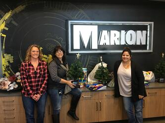 Marion supports local community this holiday season