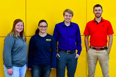 Summer Interns at Marion Body Works Head Back to College