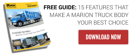 15 Features That Make a Marion Truck Body Best Choice