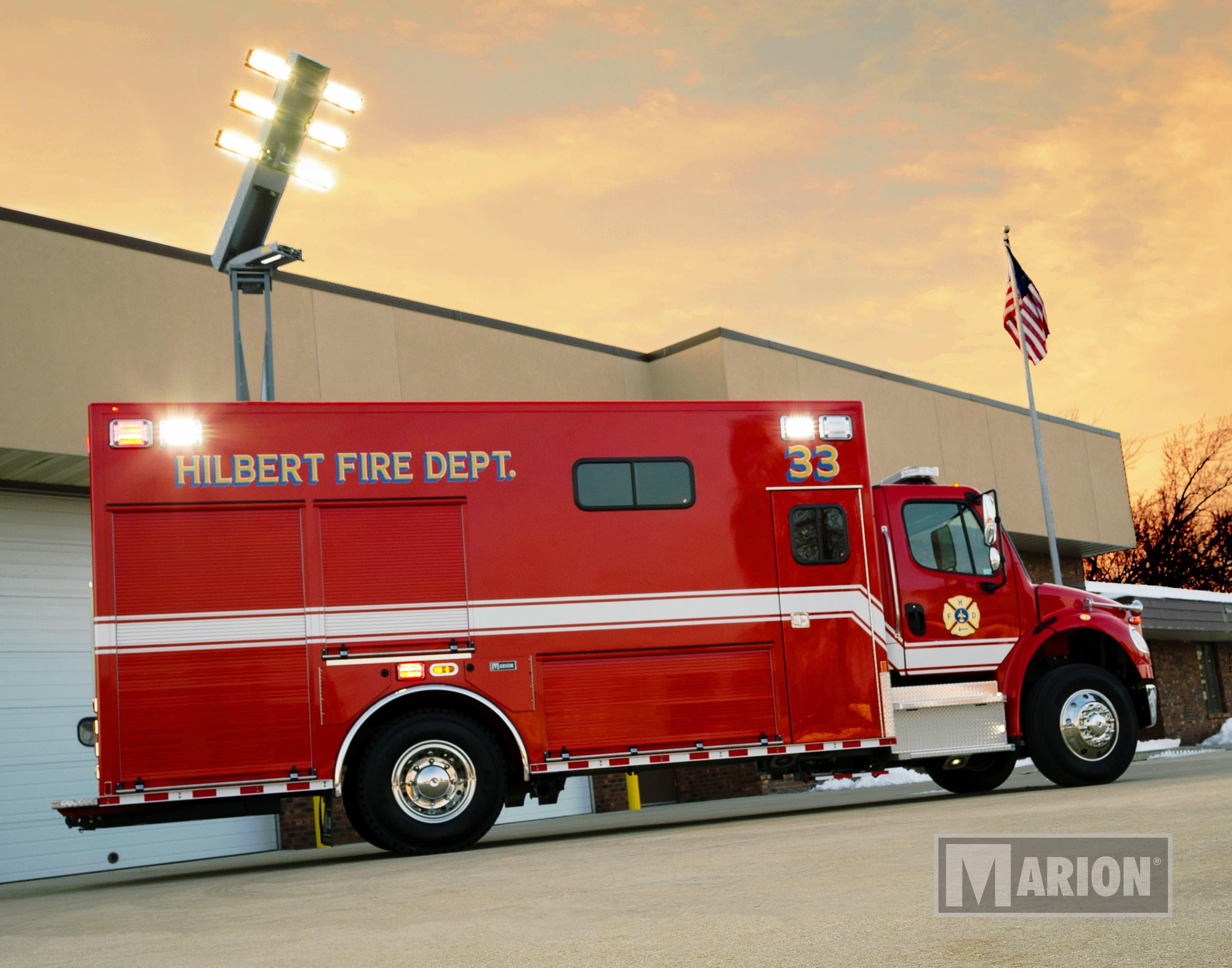 Hilbert Fire Department