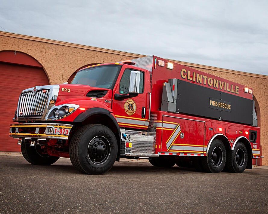 Clintonville Fire Department Tanker Truck