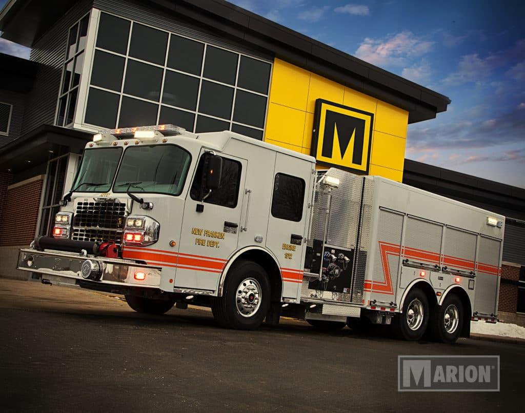 New Franken Fire Department Pumper Truck