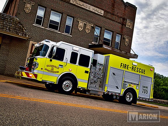 Saxeville Springwater Fire Department