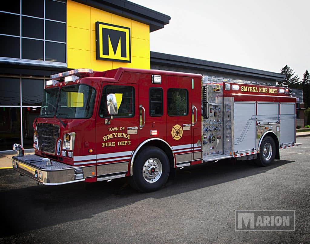 Smyrna Fire Department Pumper Truck