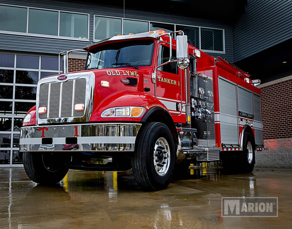 Town of Old Lyme Fire Tanker