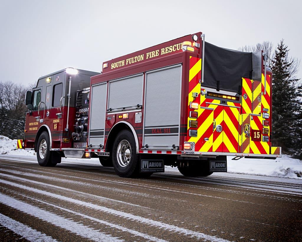 South Fulton Fire Department Pumper Truck